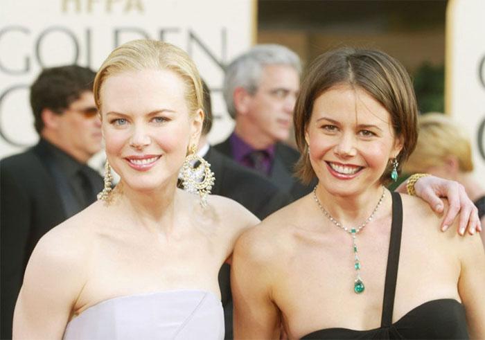 Nicole Kidman กับน้องสาว Antonia