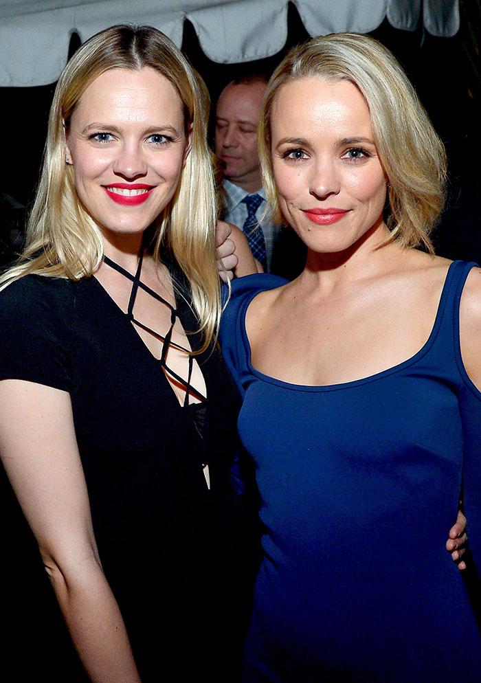 Rachel McAdams กับน้องสาว Kayleen