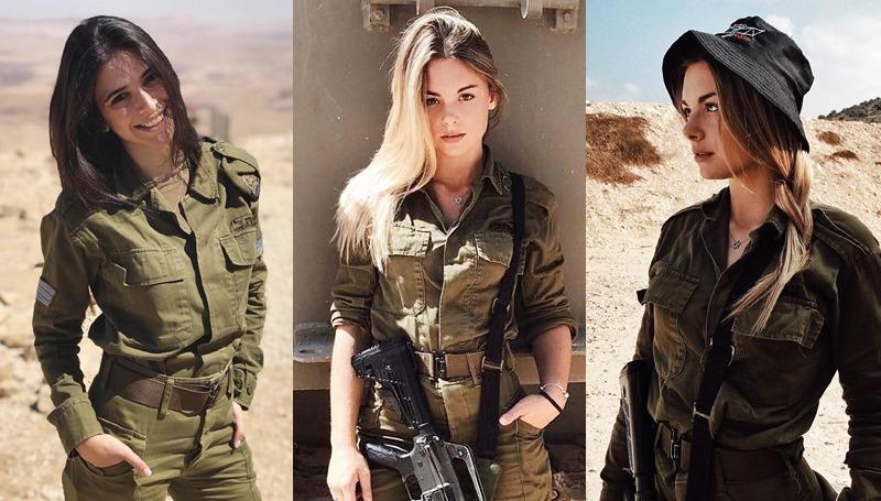 ทหาร ทหารสวย ทหารหญิง สวย อิสราเอล