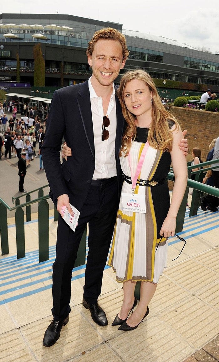 Tom Hiddleston กับน้องสาว Emma