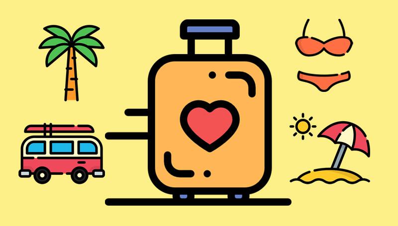 กระเป๋า การจัดกระเป๋า ท่องเที่ยว เคล็ดลับดีๆ เทคนิคต่างๆ