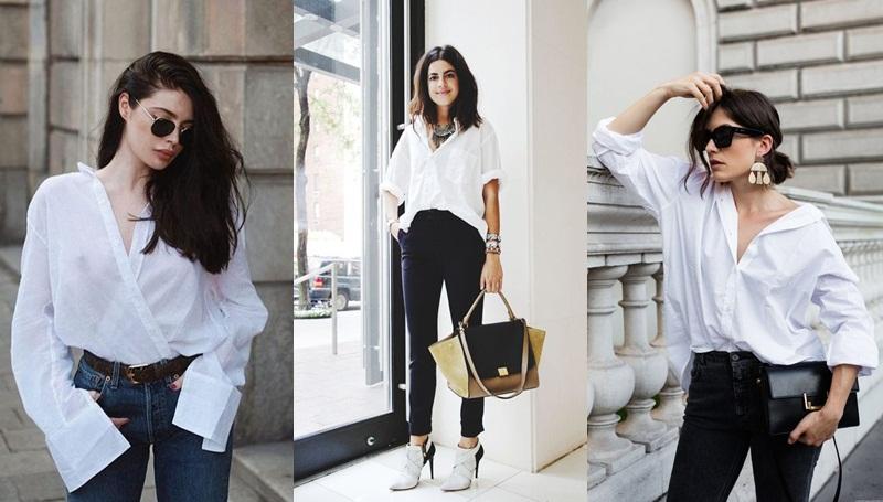 มินิมอล อัปเดตแฟชั่น เสื้อเชิ๊ต แฟชั่น แฟชั่นเสื้อขาว