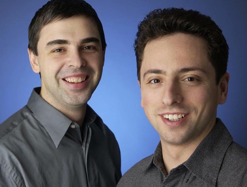 Google - Larry Page and Sergey Brin