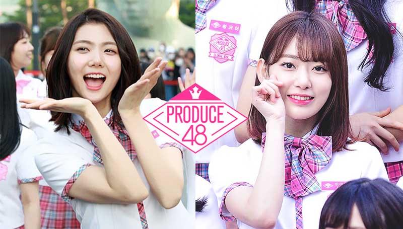 Afterschool AKB48 HKT48 PRODUCE 48 กาอึน มิยาวากิ ซากุระ