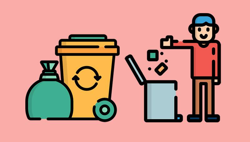 ถังขยะแต่ละสี มีความหมายว่าอย่างไร?