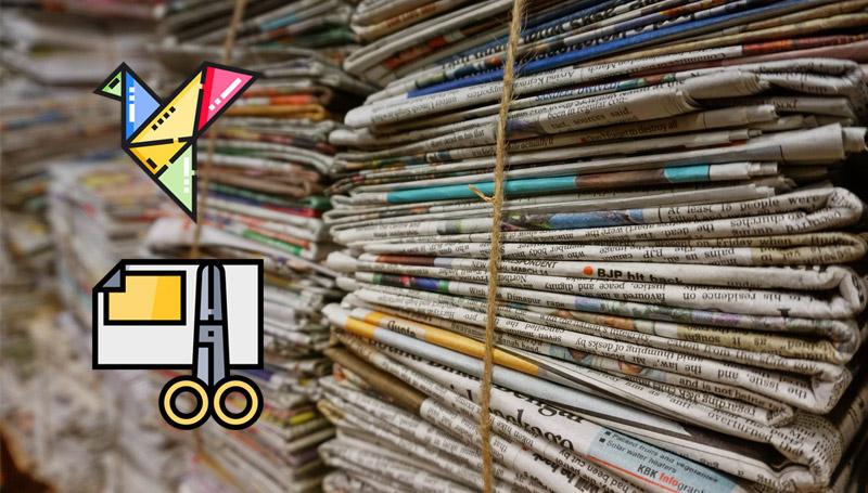 กระดาษ โลกสวยด้วยมือเรา