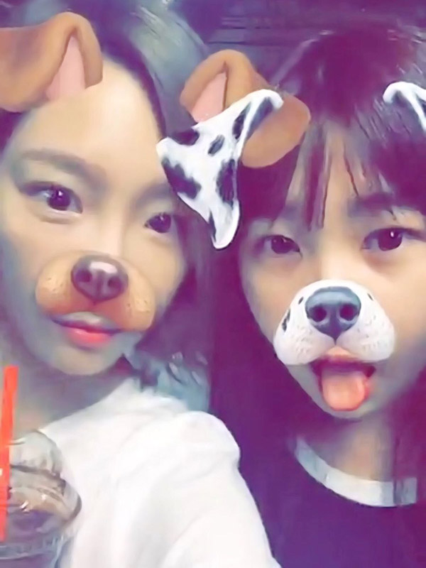 คิมฮายอน น้องสาว แทยอน วง Girls' Generation