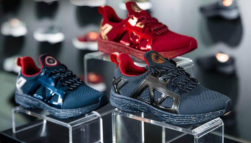 Avengers marvel มาร์เวล รองเท้ากีฬา รองเท้าผ้าใบ