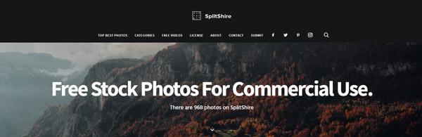 splitshire.com เว็บไซต์ดาวน์โหลดภาพฟรี