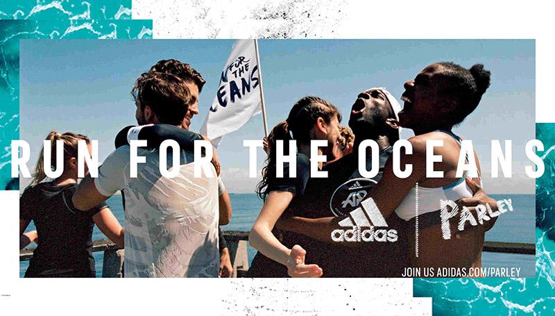 adidas ขยะ รักษ์โลก วันมหาสมุทรโลก