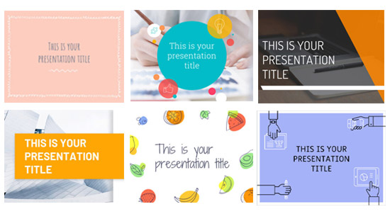 PowerPoint Templates ดาวน์โหลดฟรี