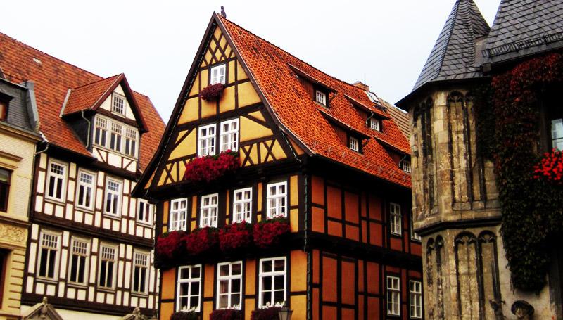 germany เควดลินบวร์ก เที่ยวเยอรมนี เยอรมนี