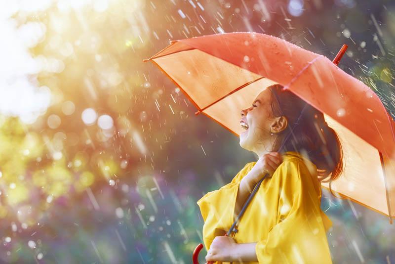 ฝนที่ตกในเมืองไทย