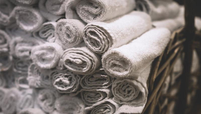 ผ้าขนหนู ผ้าเช็ดตัว ผ้าเช็ดหน้า เคล็ดลับ