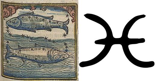 ราศีมีน - ปลาสองตัว