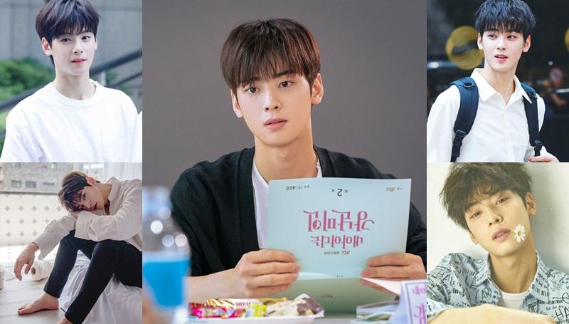 Cha Eun Woo My ID is Gangnam Beauty ชา อึนอู ซีรีส์เกาหลี พระเอกเกาหลี