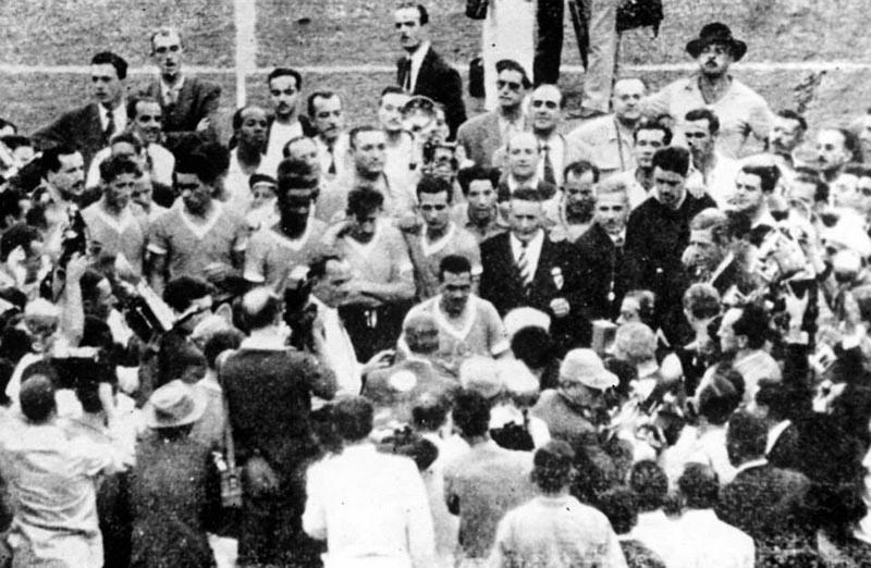 ครั้งที่ 4 ปี ค.ศ.1950ประเทศอุรุกวัย