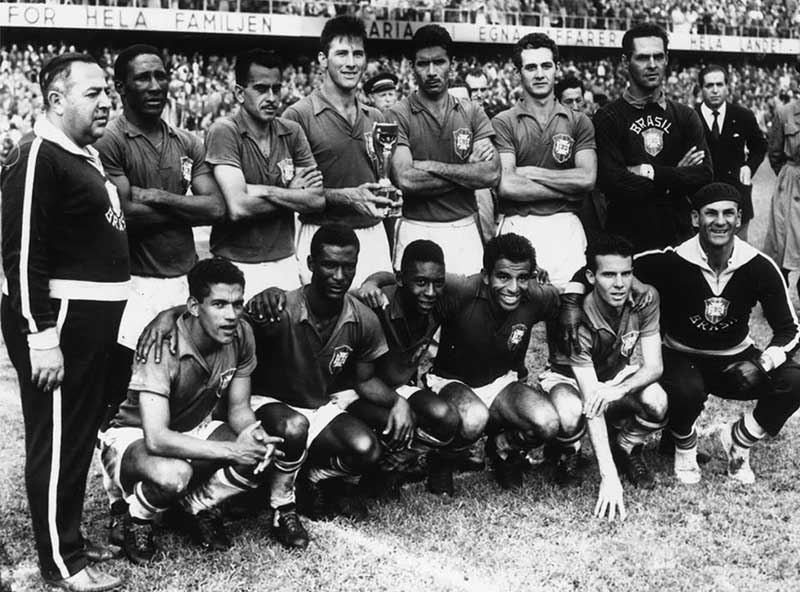 ครั้งที่ 6 ปี ค.ศ.1958ประเทศบราซิล