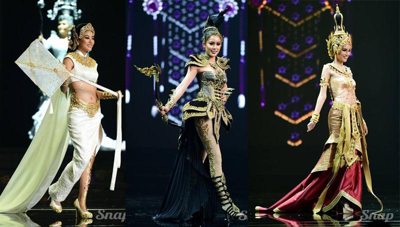 Miss Grand Thailand 2018 ชุดประจำจังหวัด มิสแกรนด์ มิสแกรนด์ 2018