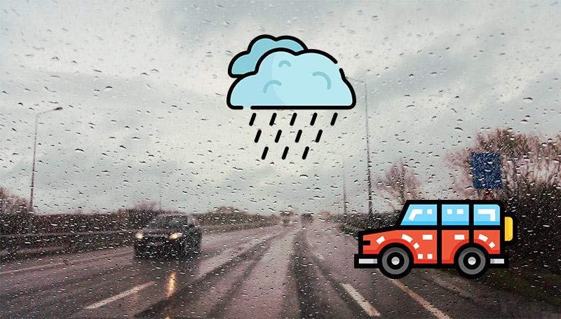 ความปลอดภัย ยางรถยนต์ รถยนต์ หน้าฝน