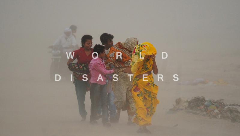 ข่าวรอบโลก ต่างประเทศ ภัยพิบัติ อันตรายที่ธรรมชาติสร้างขึ้น