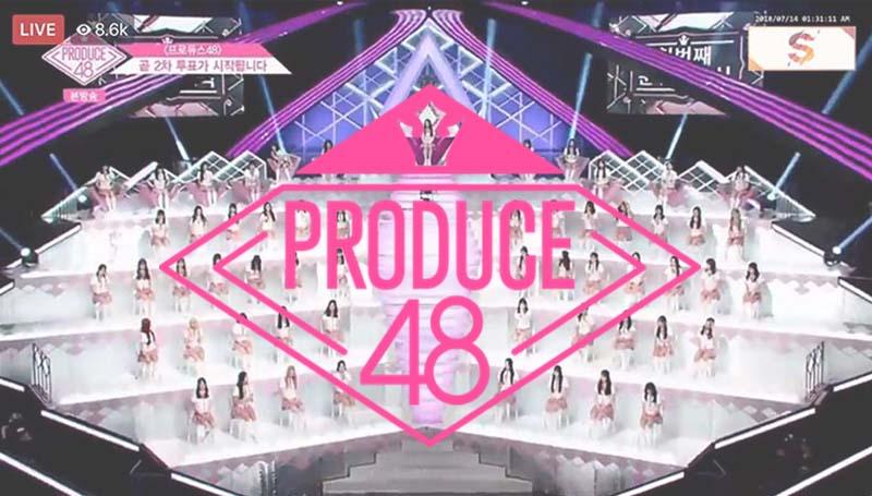 PRODUCE 48 การจัดอันดับ