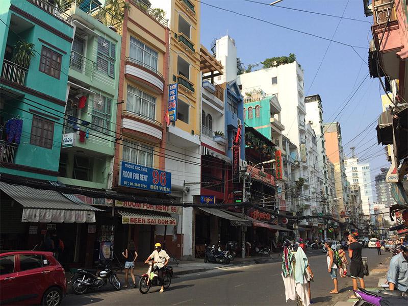 ที่พักแถวๆ ตลาด Ben Thanh
