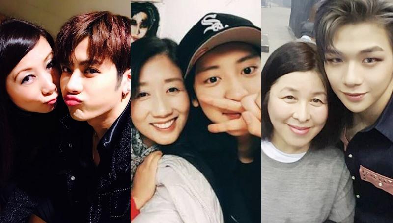 12 สิงหาคม คุณแม่ คุณแม่คนดัง วันแม่ ไอดอลเกาหลี