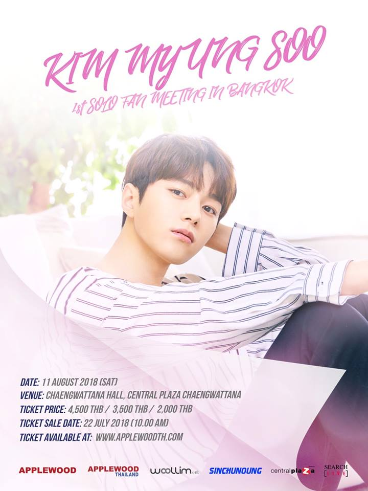 KIM MYUNG-SOO 1ST SOLO FAN MEETING IN BANGKOK