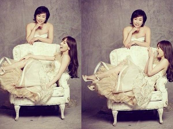 แทฮยอน วง Girls' Generation และ คุณแม่