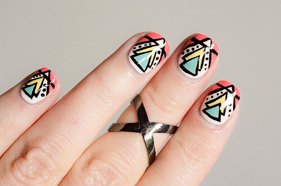 nails ชนเผ่า ทาเล็บ ลายเล็บ