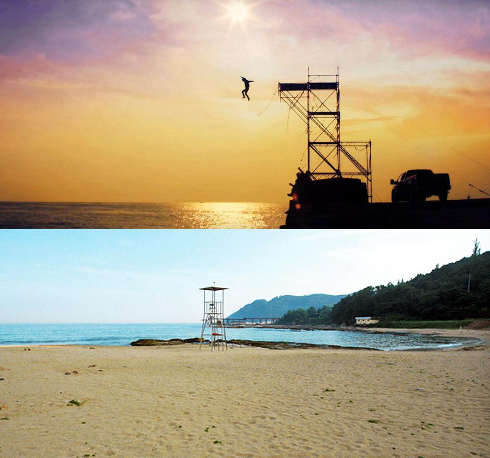 หาดคยองจอน เมืองยองด๊อก