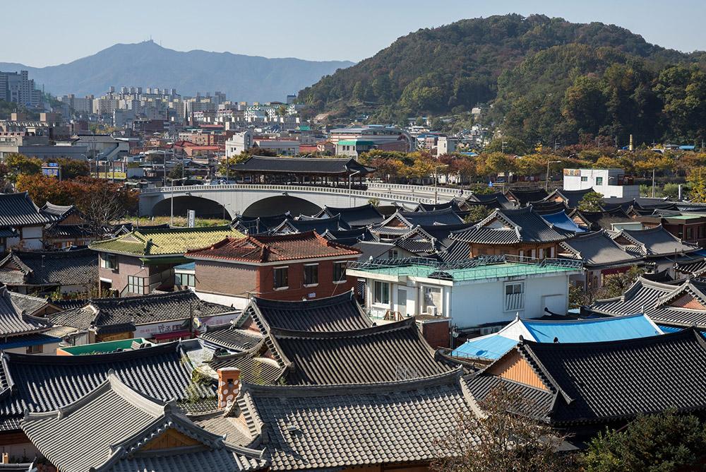 หมู่บ้านจอนจู ฮันอก