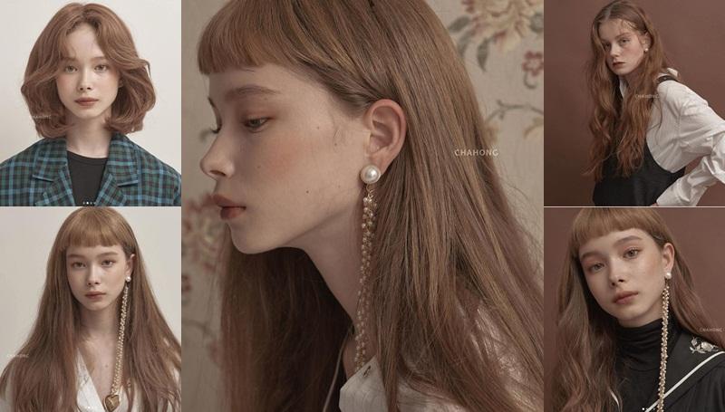 Bambi Brown Color เกาหลี เทรนด์สีผม เทรนด์สีผมเกาหลี 2019