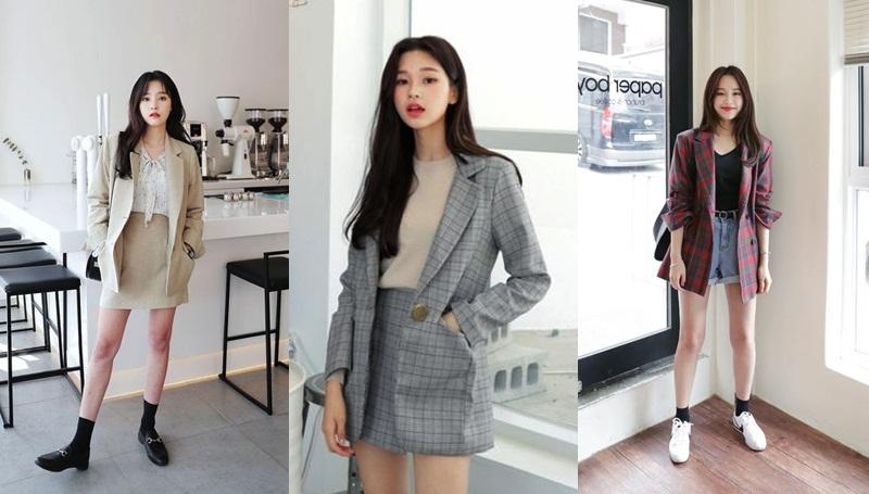 เทรนด์แฟชั่น เสื้อเบลเซอร์ แฟชั่นเกาหลี