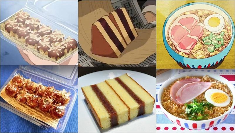 การ์ตูน ภาพถ่าย อนิเมะ อนิเมะญี่ปุ่น อาหาร