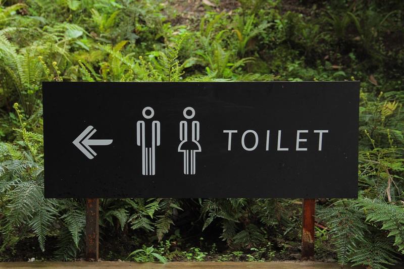 ห้องน้ำ =トイレ (โทะอิเระ) มาจากคำว่าtoilet นั่นเอง