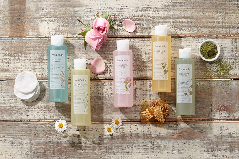 MAMONDE FLOWER TONER SERIES' STORY โทนเนอร์ MAMONDE