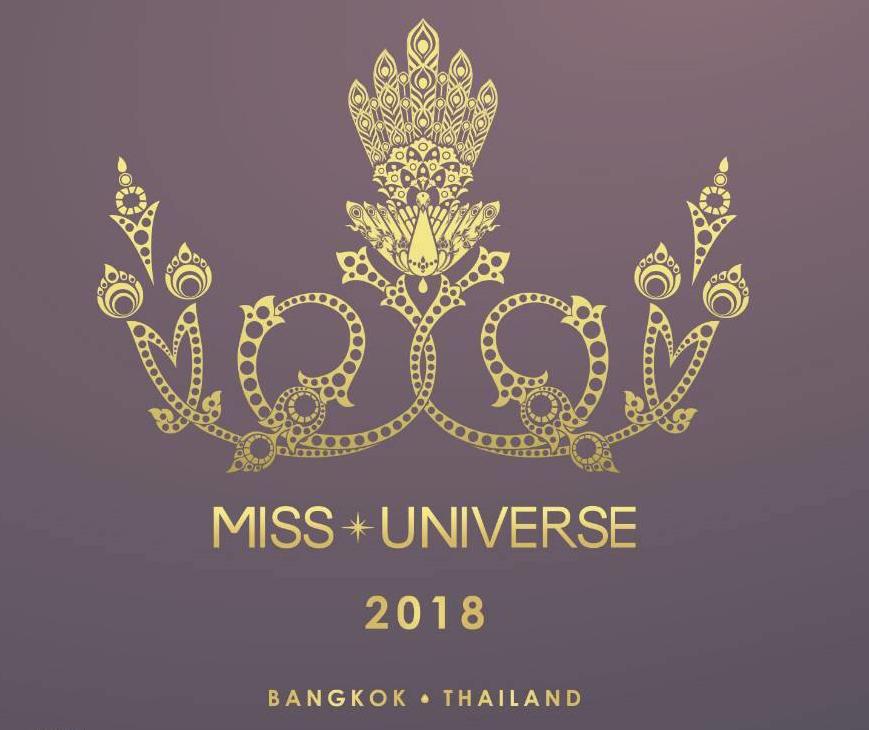 โลโก้ Miss Universe 2018