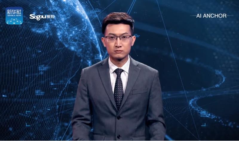 ประเทศจีน ปัญญาประดิษฐ์ ผู้ประกาศข่าว AI