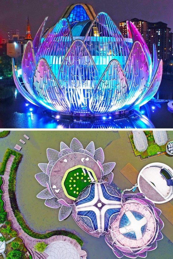 Lotus Buildingเขตอู่จิ้น มณฑลเจียงซู ประเทศจีน