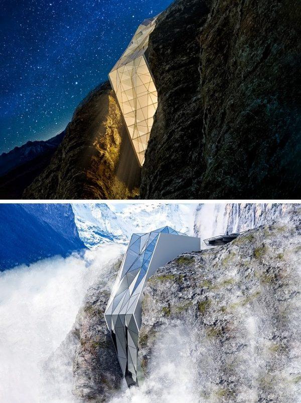 โรงแรมในเทือกเขาแอลป์