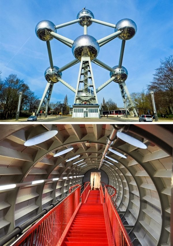 The Atomium บรูว์แซล ประเทศเบลเยี่ยม