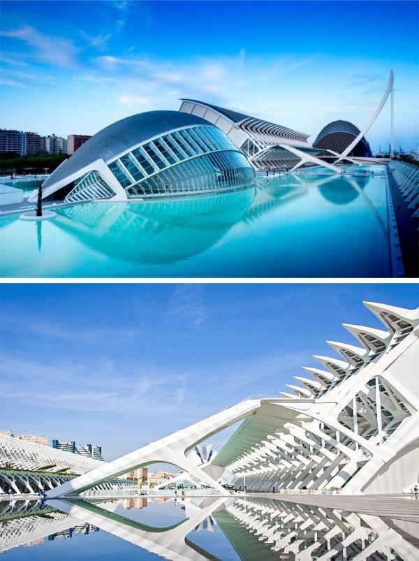 City of Arts and Sciences บาเลนเซีย ประเทศสเปน