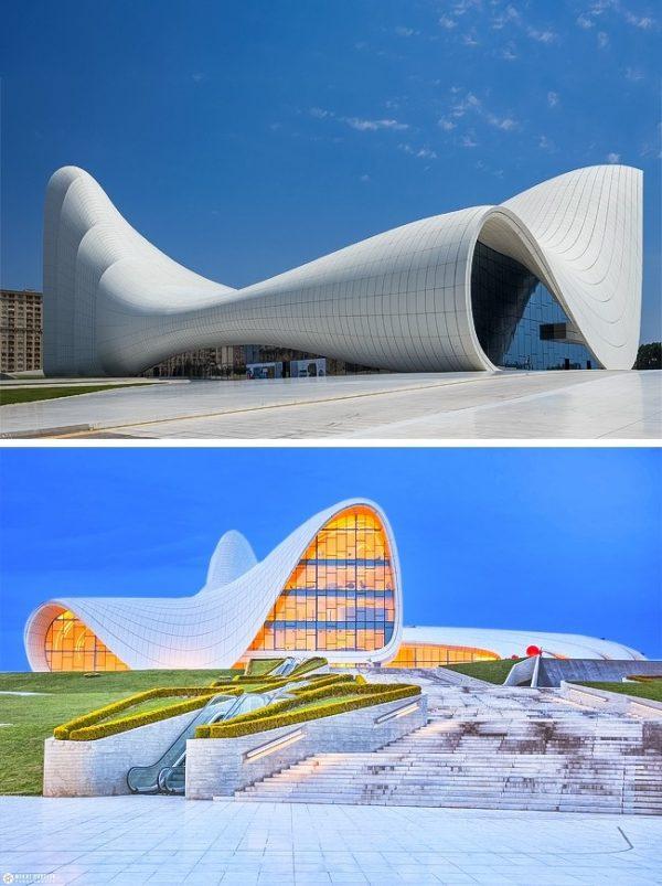 Heydar Aliyev Center บากู ประเทศอาเซอร์ไบจาน