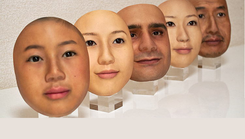 ญี่ปุ่น หน้ากากหน้าคน