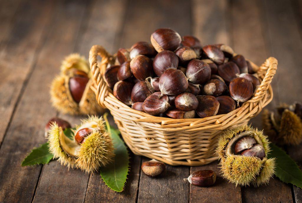 栗子 lìzi ลี่จื่อ เกาลัด (Chestnuts)
