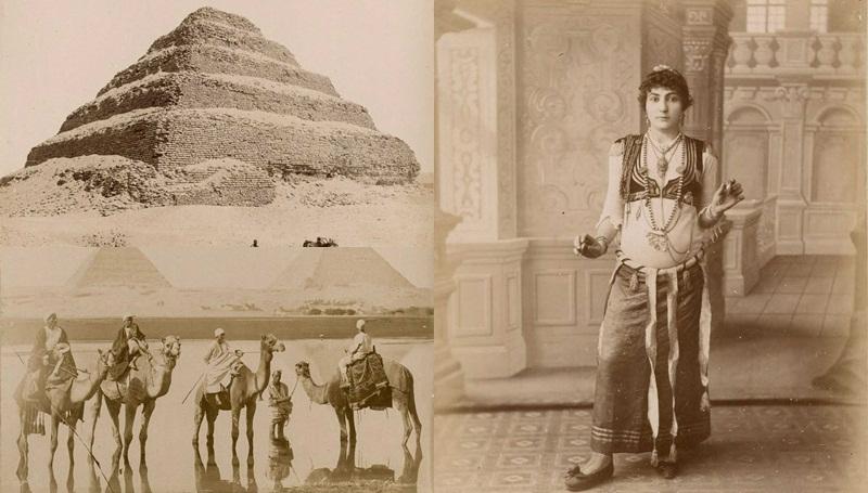 ภาพเก่า ภาพในอดีต อียิปต์โบราณ