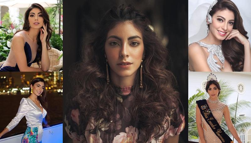 Miss Ecuador 2018 MissUniverse2018 Virginia Limongi นางงาม