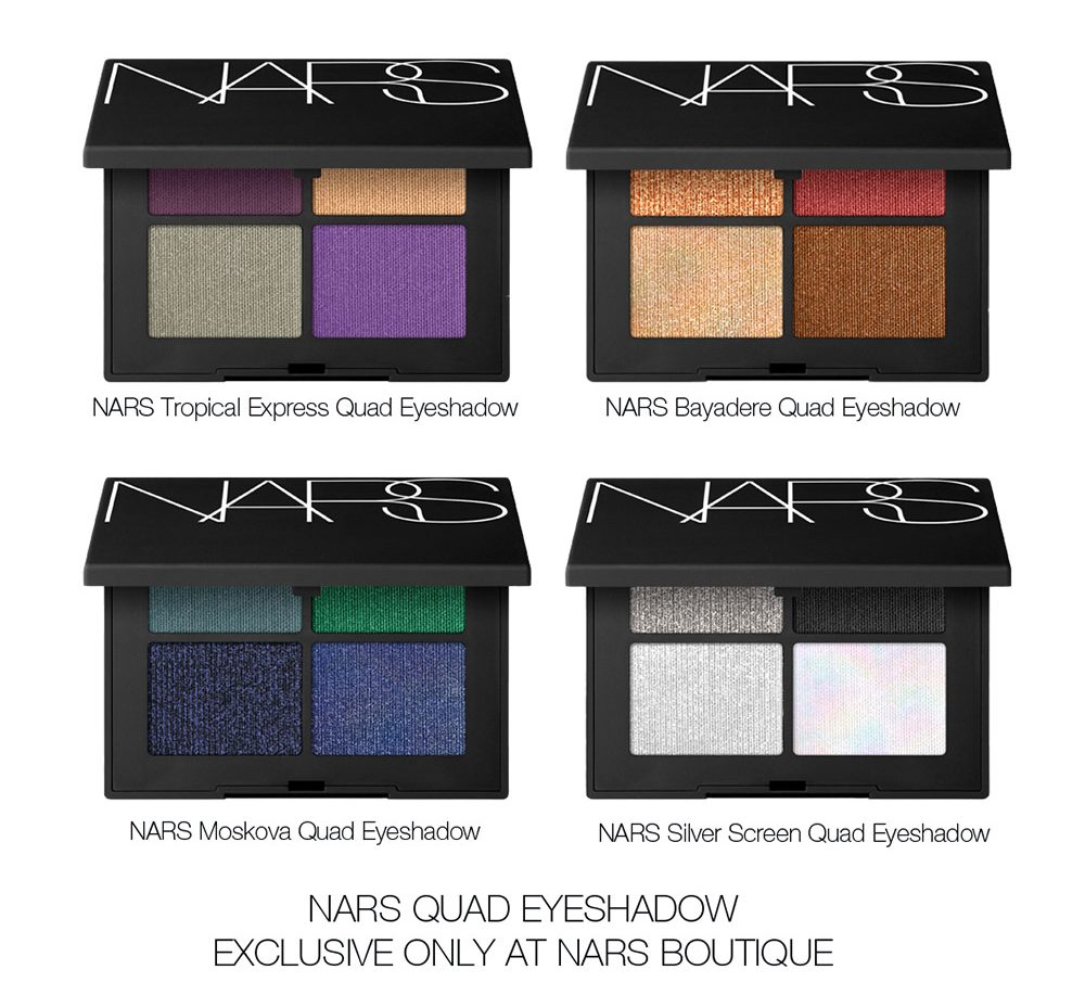 QUAD EYESHADOWS
